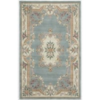 Caleb Hand-Tufted Wool Oriental Accent Rug (2' x 4') - 2' x 4'