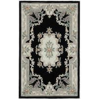 Easton Hand-Tufted Wool Oriental Accent Rug (2' x 4') - 2' x 4'