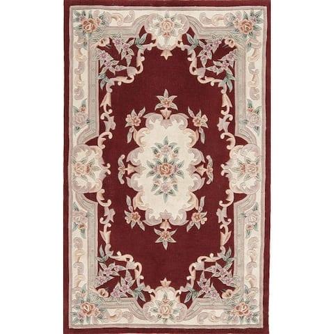 Bergen Hand-Tufted Wool Oriental Accent Rug (2' x 4')