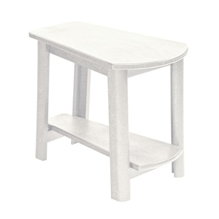 Generations White Tapered Style Accent Table