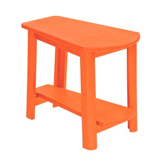 Generations Orange Tapered Style Accent Table