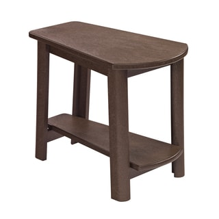 Generations Brown Tapered Style Accent Table