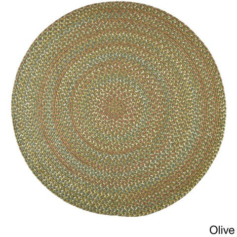 Rhody Rug Cozy Cove Indoor/Outdoor Braided Rug