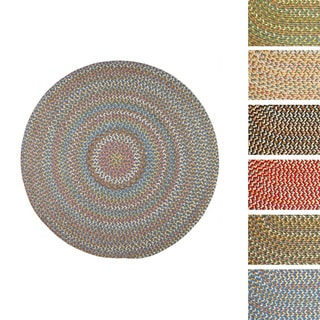 Cozy Cove Indoor/Outdoor Round Braided Rug by Rhody Rug (8' x 8')