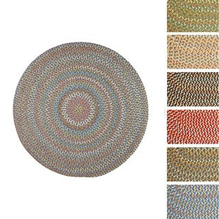 Cozy Cove Indoor/Outdoor Braided Rug (10' x 10') by Rhody Rug
