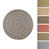 Cozy Cove Indoor/Outdoor Braided Rug by Rhody Rug (10' x 10')