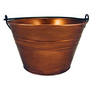 BREKX Old Tavern Copper Finish Beverage Tub