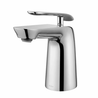 KRAUS Seda Single Hole Single-Handle Basin Bathroom Faucet in Chrome