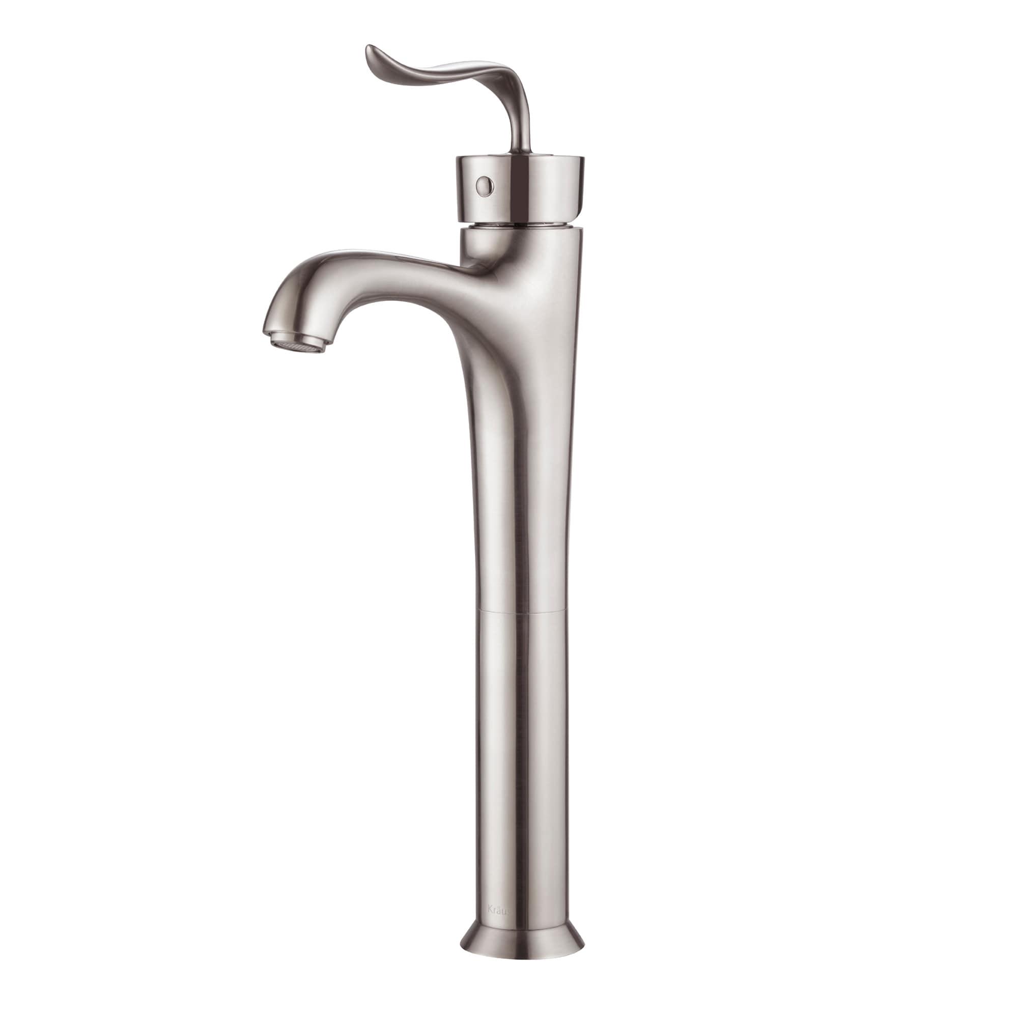 Kraus FVS-13800 Coda Single Hole Single-Handle Bathroom Vessel ...