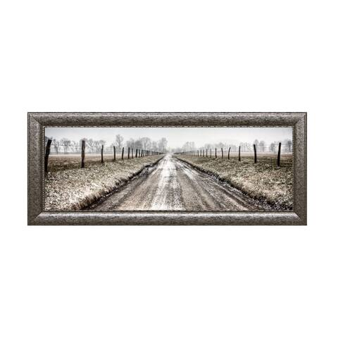 Todd McPhetridge-Picket Path 40 x 16 Framed Art Print
