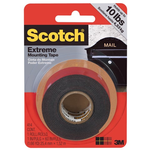 Scotch Extreme Mounting Tape 20-pound Capacity