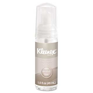 Kleenex Alcohol-Free 1.5 oz Foam Hand Sanitizer (Pack of 2)