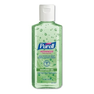 PURELL 4 oz Instant Hand Sanitizer w/Aloe (Pack of 10)