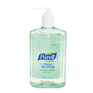 PURELL 12 oz Instant Hand Sanitizer w/Aloe (Pack of 3)