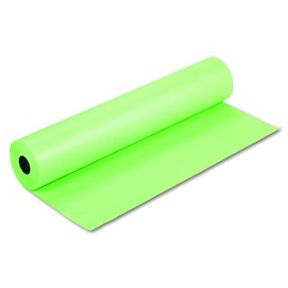 Pacon Rainbow Duo-Finish Lite Green Colored Kraft Paper