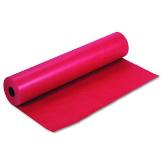 Pacon Rainbow Duo-Finish Scarlet Colored Kraft Paper
