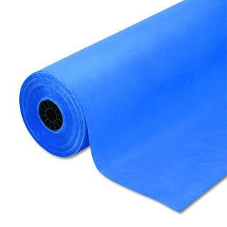 Pacon Rainbow Duo-Finish Royal Blue Colored Kraft Paper