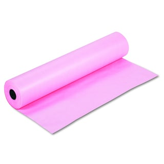 Pacon Rainbow Duo-Finish Pink Colored Kraft Paper