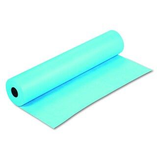 Pacon Rainbow Duo-Finish Sky Blue Colored Kraft Paper