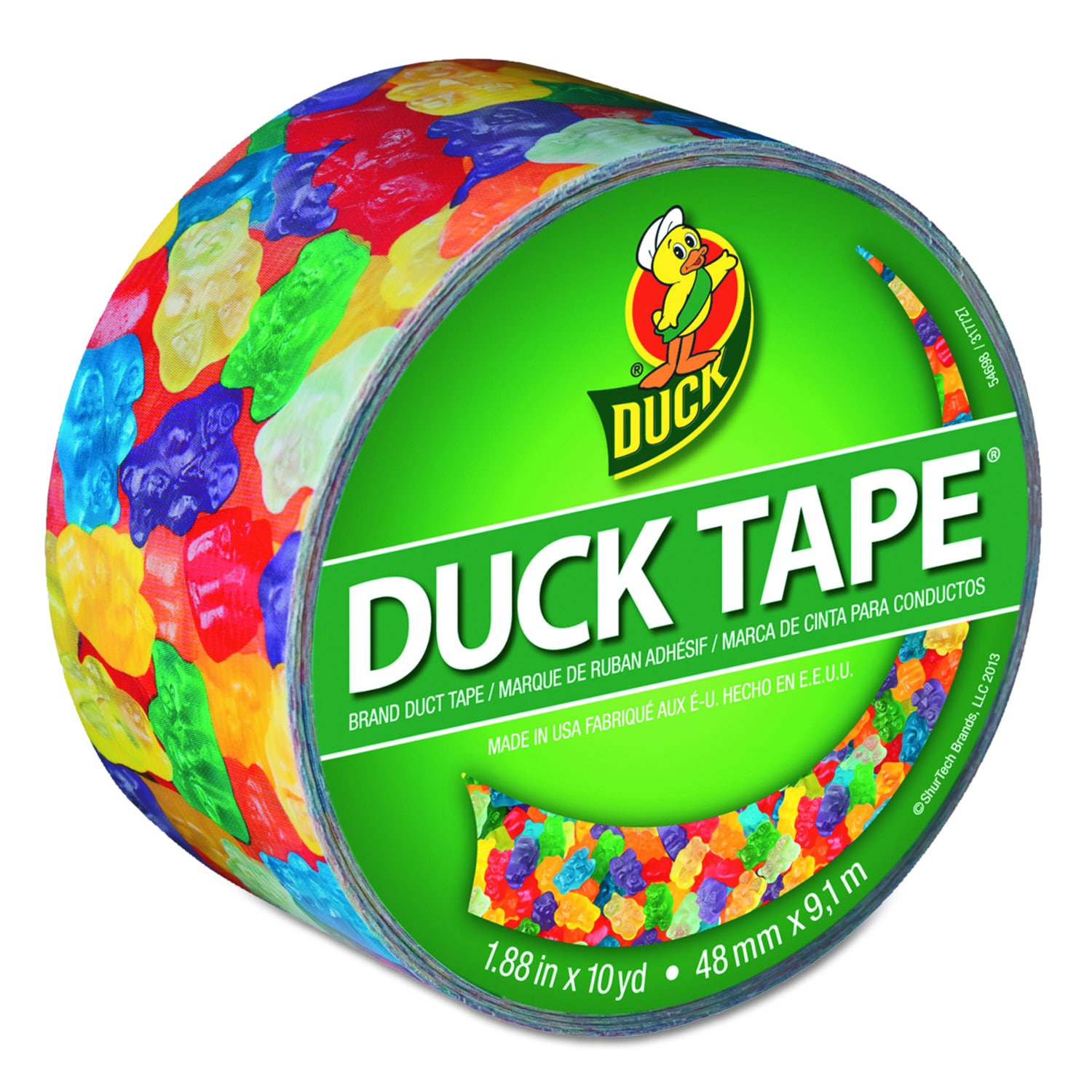 Duck Gummy Bears Colored Duct Tape (Gummy Bears)