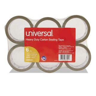 Universal Box Tan Sealing Tape (Pack of 2)