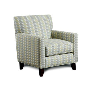 Furniture of America Springfall Striped Contemporary Arm Chair