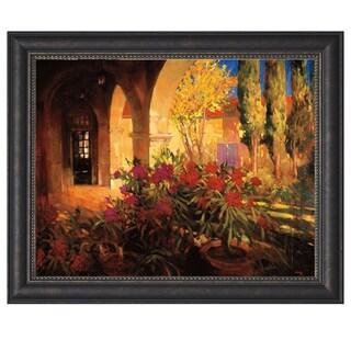 Philip Craig-Twlight Courtyard 40 x 28 Framed Art Print