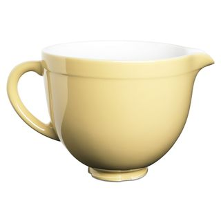 KitchenAid KSMCB5MY Yellow 5-quart Ceramic Bowl