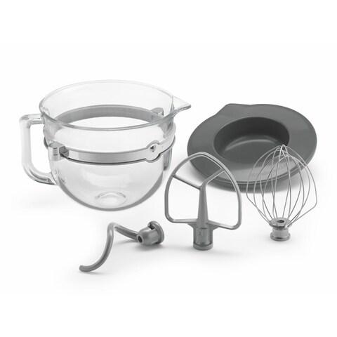 KitchenAid KSMF6GB 6-quart Glass Bowl Bundle