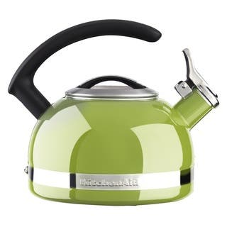 KitchenAid 2-quart Porcelain Enamel Kettle - Lime|https://ak1.ostkcdn.com/images/products/10242269/P17361749.jpg?impolicy=medium