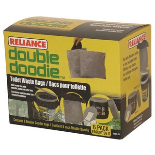 Reliance Double Doodie Toilet Waste Bag (Pack of 6)