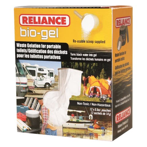 Reliance Bio-Gel Waste Gelation with Scoop to Solidify Waste