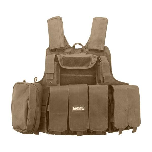 Barska Optics Loaded Gear Tactical Vest VX-300 Tan