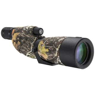 Barska Optics WP Level Spotting Scope 20-60x65mm Camo Straight with Tripod Carry Case