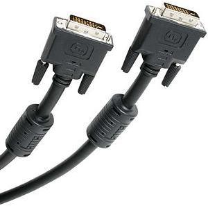6FT 28PIN DVI-I M/M DUAL LINK CABLDIGITAL/ANALOG MONITOR CABLE