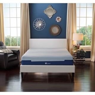 LANE 8-inch Twin-size Flex Gel Foam Mattress with bonus pillow