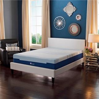 LANE 8-inch Queen-size Gellux Foam Mattress with bonus pillow