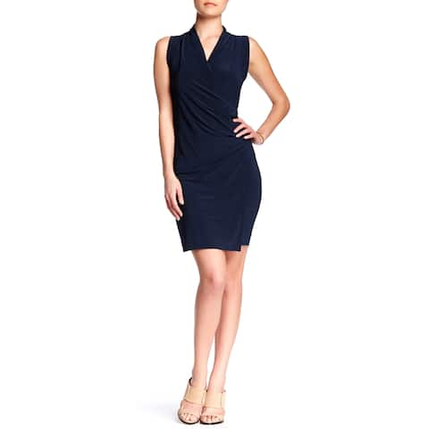 Women's Crossover Fitted Dress