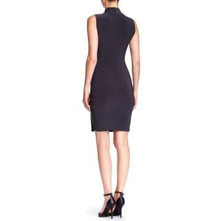 Women's Crossover Fitted Dress Short Dress Work Dress Cocktail Dress