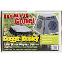 Doggie Dooley In Ground Dog Waste Toilet 14inX14inX10in