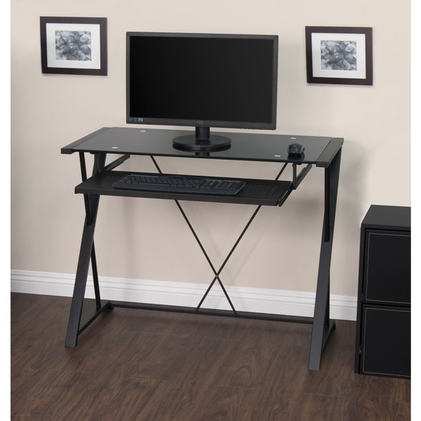 Calico Designs Artesia Black Desk - Free Shipping Today - Overstock