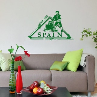 Spain Post Stamp Vinyl Sticker Wall Art