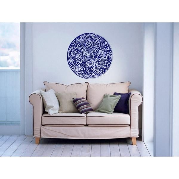 2e61047ee8 Shop Taoism Symbol Patterns Yin and Yang Vinyl Sticker Wall Art ...
