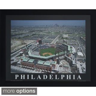 Framed Sports Stadium Photography Wall Art