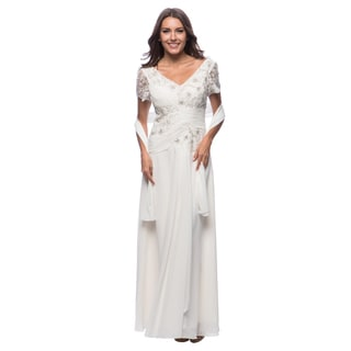 DFI Women's Lace & Sequin Detail Gown (Option: Xs)
