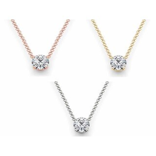 De Couer 14k Gold 1 1/4ct TDW Diamond Necklace (H-I, I2)