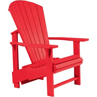 Generations Red Upright Adirondack Chair