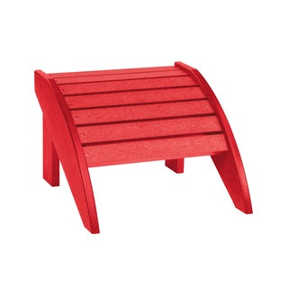 Generations Red Footstool (As Is Item)