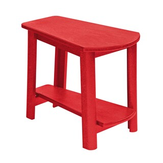 Generations Red Tapered Style Accent Table