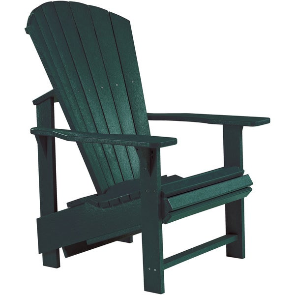 Shop Generations Green Upright Adirondack Chair Free